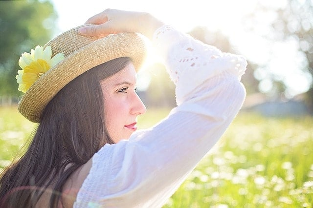紫外線対策の日焼け止めはスキンアクアUVカットモイスチャージェル。