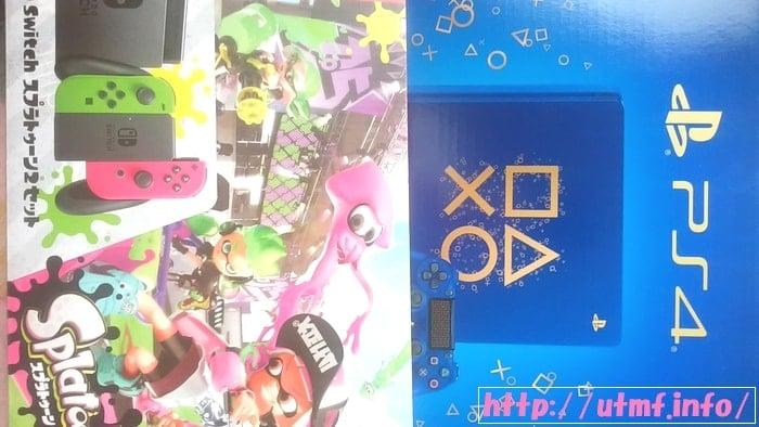 任天堂スイッチとプレステ4どちらを買うかはゲームソフトで決めろ!