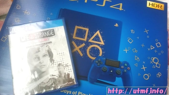 PS4 Days of Play Limited Editionとライフイズストレンジ購入評価。