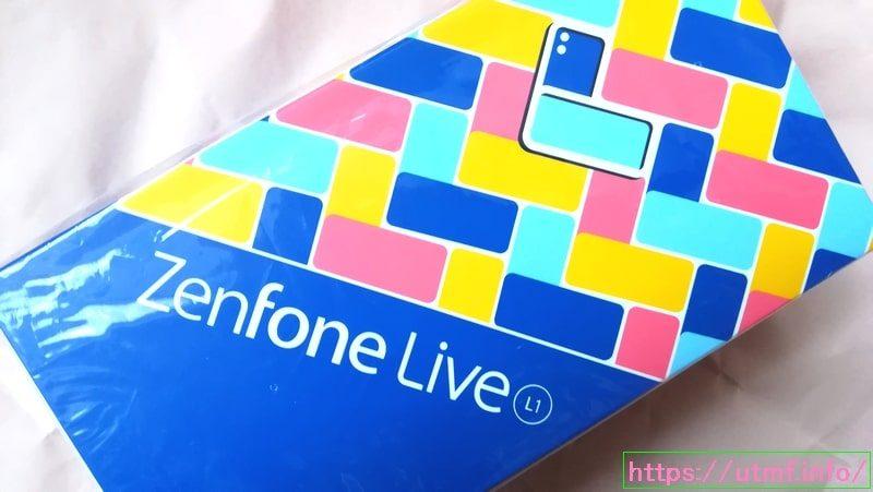 ZenFone Live(L1) ZA550KLスマートフォン本体