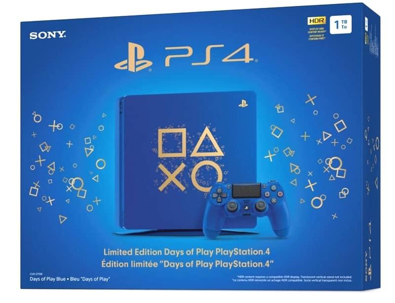 PS4本体 Days of Play Limited Editionとライフイズストレンジ購入。